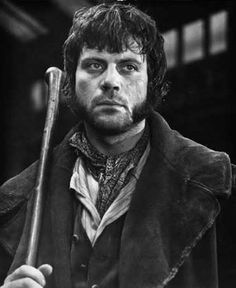 Oliver Reed (England) Tough, Rough, and not a little scary.  Known as much for his hard drinking as his spectacular performances on stage and screen.