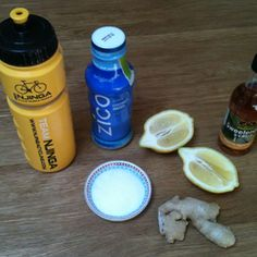 Homemade sports nutrition – electrolyte drink