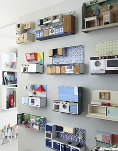 Puppenküchen-Sammlung