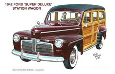 jigidi 180112  1942 ford station wagon (104 pieces)