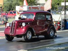'60's Ford Anglia Gasser. Would love to have one of these for the street!