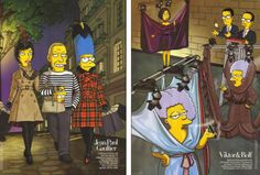 Harper's Bazaar,The Simpsons