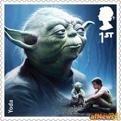 Le poste britanniche emettono i francobolli di Star Wars - http://www.afnews.info/wordpress/2015/09/16/le-poste-britanniche-emettono-i-francobolli-di-star-wars/