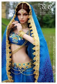 so, fuhgit the 'bridal couture' stuff, I've been searching for a Pinned image of a polymer clay East Indian woman...