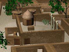 coptos temple reconstruction version 2