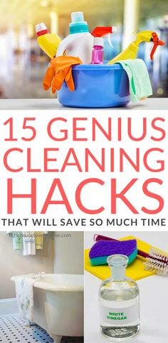These tips are AMAZING! I know you'd rather spend your time doing anything else, but cleaning has got to be done. That's not to say it needs to take a long time, right? With these awesome tips you'll have a clean house in no time at all.