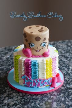 Shopkins Cake; Kooky Cookie Cake