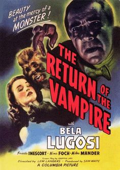 El retorno del vampiro (1943) The Return of the Vampire - Reparto Bela Lugosi, Frieda Inescort, Nina Foch,