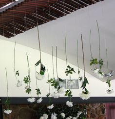 Simple hanging stems! Styling by Chandelabra!