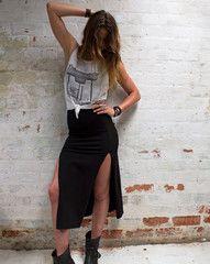 Bandit Skirt , LISP #fashion #lispthelabel #clothing #summer #black