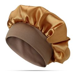 Women Elastic Sleeping Hat Headband Beanie Cap Hair Care Beanie is hot sale on Newchic. Hat Hairstyles, African Hairstyles, Curly Hair Styles, Natural Hair Styles, Head Turban, African Dresses For Kids, Hair Bonnet, African Head Wraps, Silk Hair