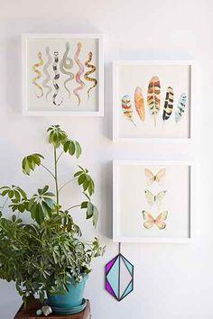 Sarah B. Martinez Snakes #3 Framed Art - Urban Outfitters