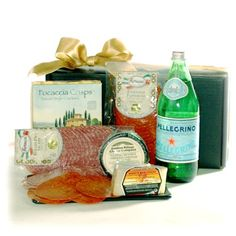 Italian Deli Gift Basket With Real Salami, Pepperoni « Holiday Adds