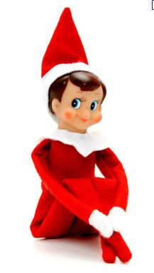 Big Brother, i.e. Elf on the Shelf. Thank you, Mom and Dad, for not stalking me with a creepy little doll at Christmas when I was a kid.