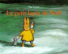 Le petit lapin de Noël d'Olga Lecaye