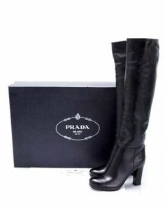 prada leather boots