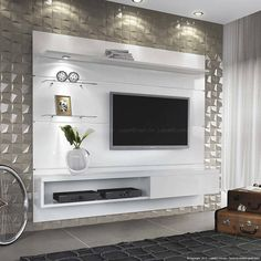 suspended home sonhare kd – Typical Miracle Wall Unit Designs, Living Room Tv Unit Designs, Tv Wall Design, Modern Tv Room, Modern Tv Wall Units, Modern Wall, Tv Unit Decor, Tv Wall Decor, Tv Wanddekor