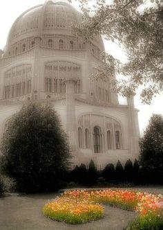 Baha'i House of Worship near Chicago