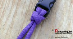 A tutorial on tying the Bull hitch. Paracord Braids, Paracord Knots, Paracord Keychain, Rope Knots, Paracord Bracelets, Paracord Projects, Paracord Ideas, Loop Knot, Diamond Knot