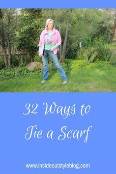32 Ways to tie a scarf