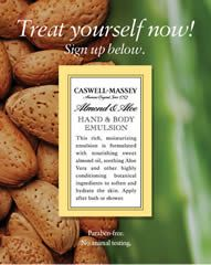 FREE Caswell-Massey Almond & Aloe Hand & Body Emulsion Sample on http://www.icravefreebies.com/