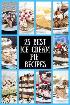 Oreo Ice Cream, Pumpkin Ice Cream, Cheesecake Ice Cream, Mint Ice Cream, Fun Easy Recipes, Best Dessert Recipes, Candy Recipes, Frozen Desserts, Frozen Treats