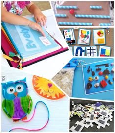 12 DIY Quiet Busy Games for Kids in the Car