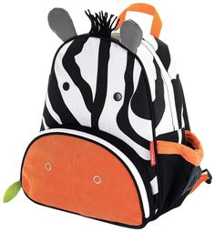Skip Hop Zoo Little Kid and Toddler Backpack, Zax Zebra *** Find out more about the great product at the image link.