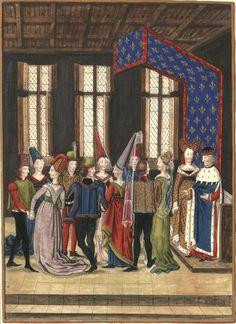 Danse aux  mourut en 1464 BnF, Est. RESERVE Oa-14-Fol., Fol. 6