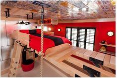 jungle gym room