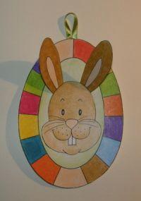 Veľkonočné vajíčko so zajkom