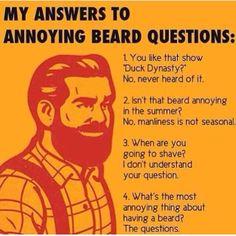 #beard So True! Especially the Duck Dynasty one.