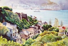 Phil Dickson - artist based in Lower Hutt Valley, Wellington, New Zealand New Zealand Art, New Zealand Travel, Wellington New Zealand, Nz Art, Art Academy, Art Club, Community Art, Home Art, Gallery