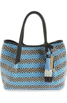 22b7870d093 Get one of the hottest styles of the season! The Vince Camuto Harlo  Geometric Woven Navy