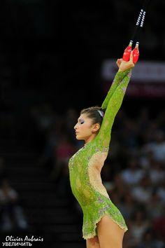 Varvara Filiou, Greece, World Championship 2011. She won bronze in all-around at the 2013 Kalamata Cup.