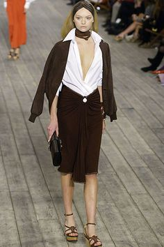 Hermès Spring 2007 Ready-to-Wear Fashion Show - Yasmin Warsame