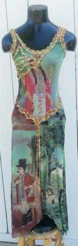Breathtaking Jean Paul Gaultier Indian Maidens Lovers The Enlightened Dress S   eBay