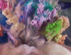 Kim Keever Photographs Unpredictable Abstract Displays of Color (6/14)