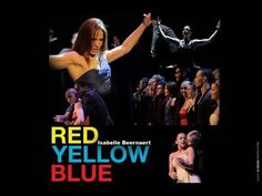 RED YELLOW & BLUE - Choreografe Isabelle Beernaert  | Rachid Pardo film