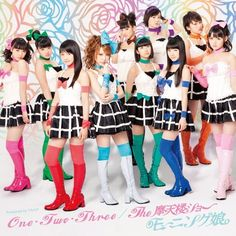 Morning Musume 50th Single 「One・Two・Three/The摩天楼ショー」(Limited Edition C Cover)