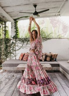 Desert Daisy Maxi Skirt Lilac S - The Effective Pictures We Offer You About bohemian life style A quality picture can tell you many - Hippie Style, Looks Hippie, Gypsy Style, Bohemian Style, Boho Chic, Bohemian Outfit, Bohemian Gypsy, Bohemian Lifestyle, Boho Style Dresses