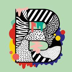 + ALPHABET & NUMBERS + - Casiegraphics - Illustration & Art