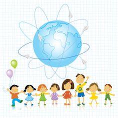 World and kids creative background vector 01 free Free Vector Backgrounds, Eps Vector, Vectors, Creative Background, Picasa Web Albums, Vector Free Download, Creative Kids, Graphic Art, Clip Art