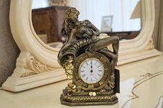 """Часы настольные/ каминные """"Колесо фортуны"""""""