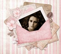 Cartas de Amor Vintage para insertar tu foto gratis. #cartasvintage #cartasdeamor #montajesromanticosgratis