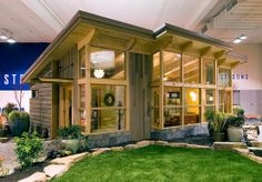 Seattle's Timber Frame FabCab
