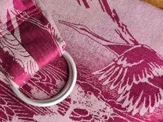 Tsuru Granada Ring Sling - pleated, 86 GBP