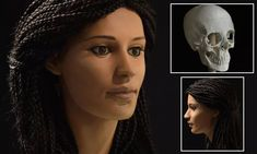 The team at the University of Melbourne determined that Meritamun was a high status woman between 18 and 25 years old, and suffered from anaemia and tooth abscesses during her short life. Ancient Egypt History, Ancient Egyptian Art, Ancient Rome, Ancient Mysteries, Ancient Artifacts, Egyptian Hairstyles, Forensic Facial Reconstruction, Hubert Reeves, France Culture
