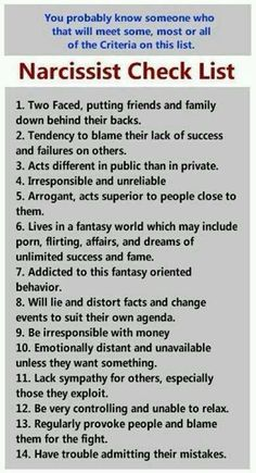 A narcissist world and how they treat you is NOT O.K.!!!