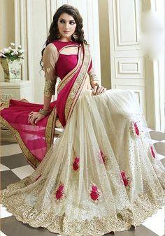 Radhika Fibers New Designer Fabric:  Net and Satin ,Color:  pink ,Blouse Color As Per Saree & Encluding Multi Color Sarees - Radhika Fibers Sarees for indian woman
